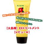 【大島椿】EXトリートメントが届いた★【レビュー】
