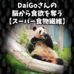DaiGoさんの脳から食欲を奪う【スーパー食物繊維】が新発見された件